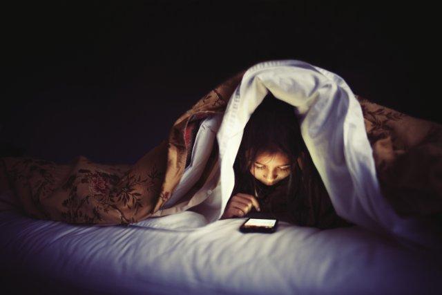 cellulare a letto no grazie