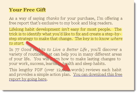 bonus omaggio in ebook